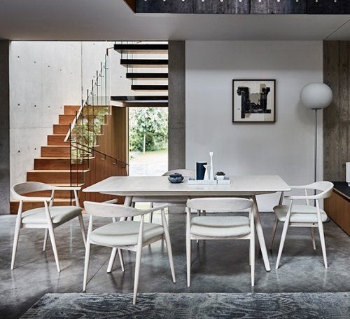Amelia Dining Table, Chairs and Armchairs